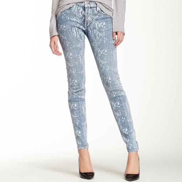Hudson Jeans Denim - HUDSON Jeans Nico Mid Rise Super Skinny Jean